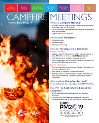 Euro PM2019 Campfire Meetings Flyer