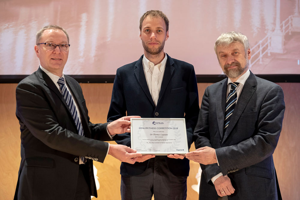 Thesis Competition Winner 2018 - Dr Thomas Lapauw
