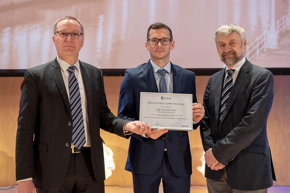 Thesis Competition Winner 2018 - Dipl-Ing Kevin Ouda